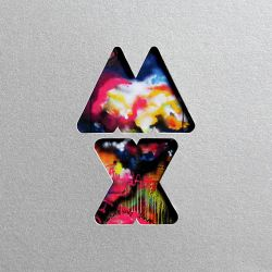 Albumart Up in Flames from Coldplay.
