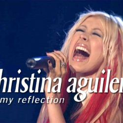 Albumart Reflection from Christina Aguilera.