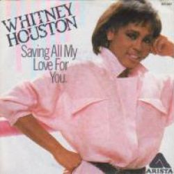 Albumart Saving All My Love For You from Whitney Houston.