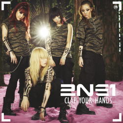Albumart Clap Your Hands from 2NE1.