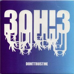 Albumart Don´t Trust Me from 3OH!3.