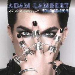 Albumart Aftermath from Adam Lambert.