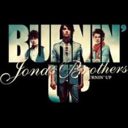 Albumart Burnin' Up from Jonas Brothers.