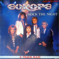 Albumart Rock the night from Europe.