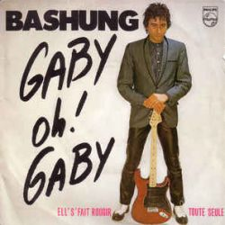 Albumart Gaby oh gaby from Alain Bashung.
